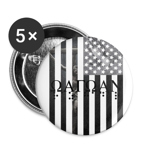 Fake/Sonder Remebrance Button(25mm) - Small Buttons