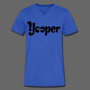 Yooper - Men's V-Neck T-Shirt by Canvas
