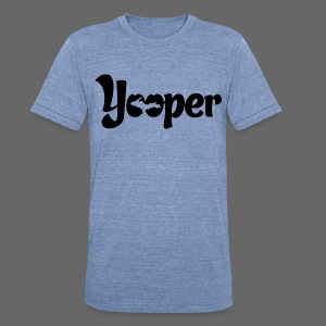 Yooper - Unisex Tri-Blend T-Shirt by American Apparel