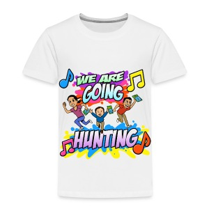 Toddlers Going Hunting - Toddler Premium T-Shirt