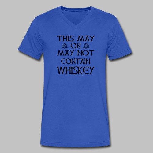 May Or May Not Contain Whiskey - Men's V-Neck T-Shirt by Canvas