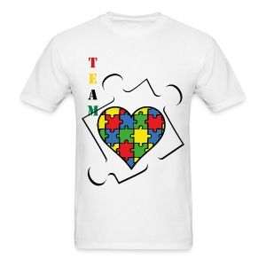 AutismLove - Men's T-Shirt