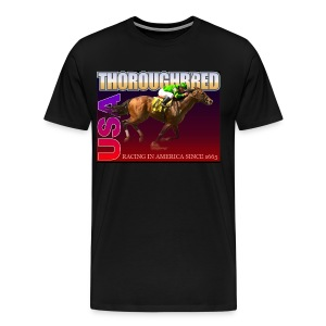 THOROUGHBRED USA 9 - Men's Premium T-Shirt
