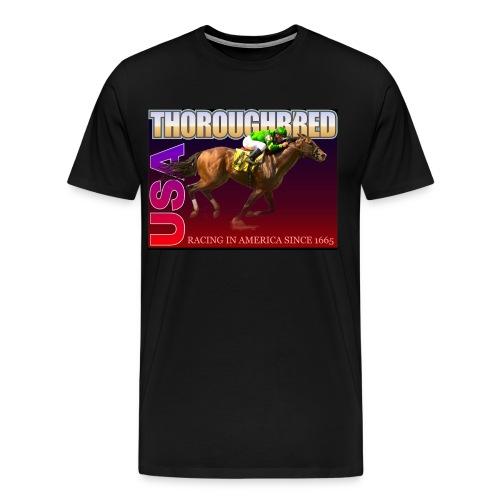 THOROUGHBRED USA 9 - Men's Premium T-Shirt