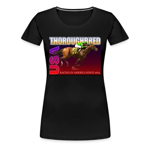 THOROUGHBRED USA 9 - Women's Premium T-Shirt