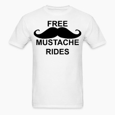 FreeMustacheRides T-Shirts