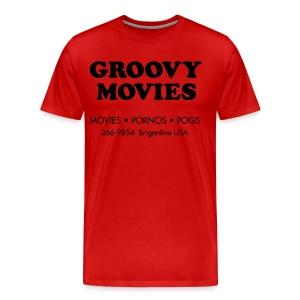 Groovy Movies - Men's Premium T-Shirt