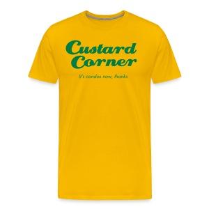Custard Corner - Men's Premium T-Shirt