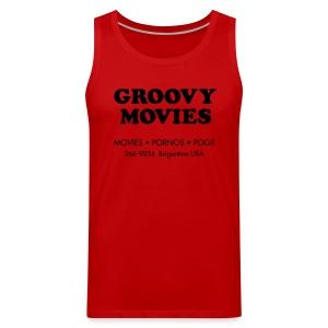 Groovy Movies - Tank - Men's Premium Tank