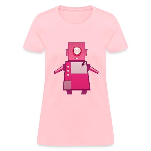 Pink Robot T-Shirt - Women's T-Shirt