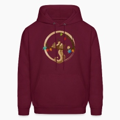 A squirrel is sleeping Hoodies