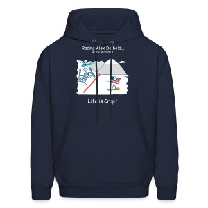 Racing Alex Deibold - Mens Hooded Sweatshirt - Men's Hoodie