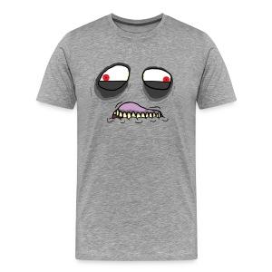 Mad Mad Mario:  Thwomp - Men's Premium T-Shirt