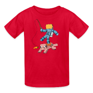 Kids' Shirts ~ Kids' T-Shirt ~ Kid's T-Shirt: Carrot on a Stick