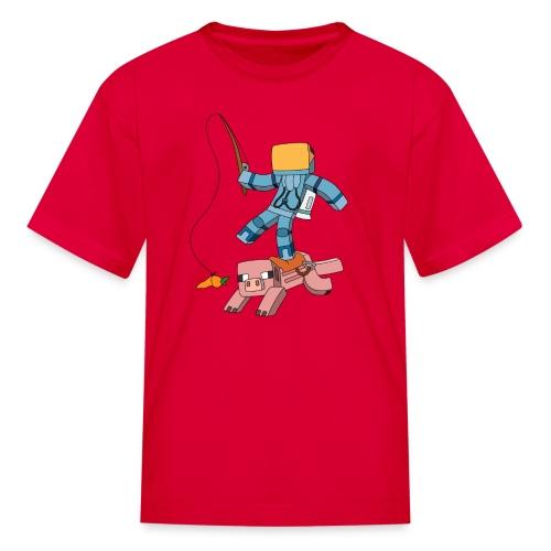 Kid's T-Shirt: Carrot on a Stick - Kids' T-Shirt