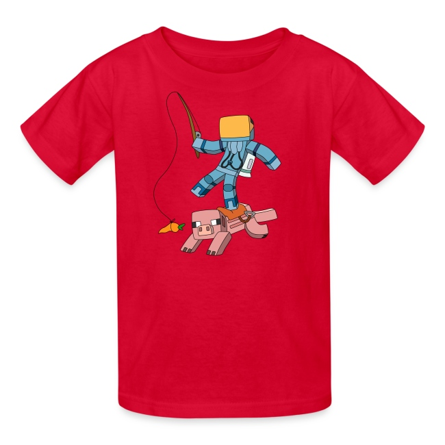 Kid's T-Shirt: Carrot on a Stick