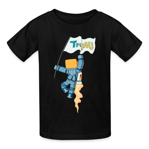 Kid's T-Shirt: TrueMU w/ Flag - Kids' T-Shirt