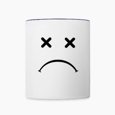 Sad Smiley - After Party Bottles & Mugs