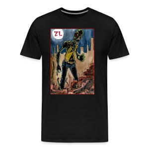 Men's ZomBeLyfe: Zombie By Nite Tee - Men's Premium T-Shirt