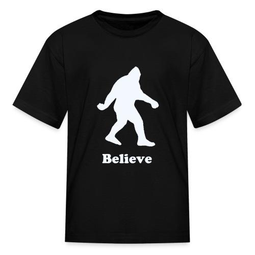 Children's Bigfoot Believe T-Shirt - Kids' T-Shirt