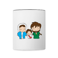 Mugs & Drinkware ~ Contrast Coffee Mug ~ Holy Family Coffee Mug