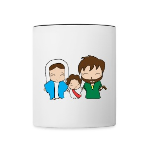 Holy Family Coffee Mug - Contrast Coffee Mug