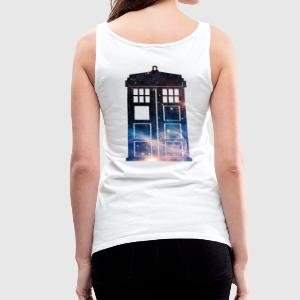 Galaxy Tardis - Women's Premium Tank Top