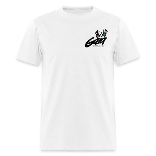 Boxy fit white logo t-shirt - Men's T-Shirt