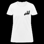 T-Shirts ~ Women's T-Shirt ~ Curvy cut logo t-shirt