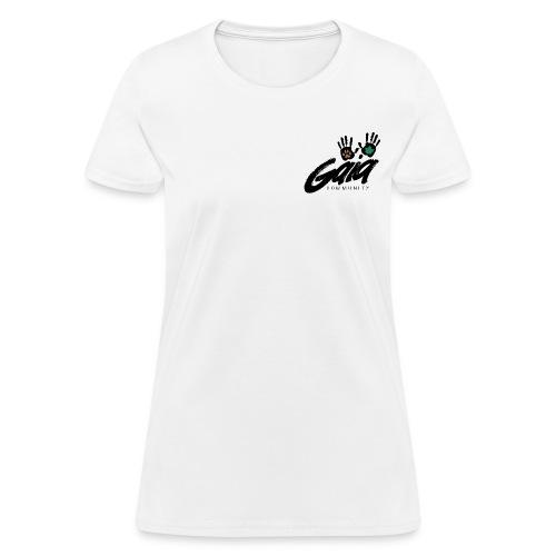 Curvy cut logo t-shirt - Women's T-Shirt