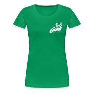 T-Shirts ~ Women's Premium T-Shirt ~ Ladies' white logo shirt