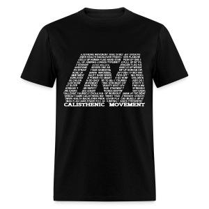 CM Logo from text white - Men's T-Shirt