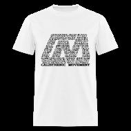 T-Shirts ~ Men's T-Shirt ~ CM Logo from text black