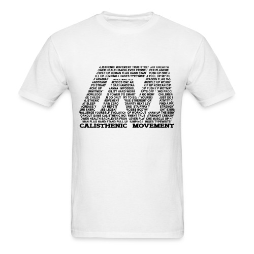 CM Logo from text black - Men's T-Shirt