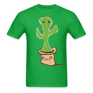 Poop Cactus - Men's T-Shirt