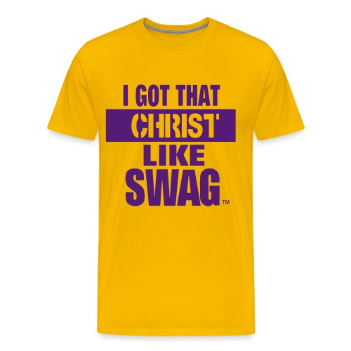 I Got That Christ Like Swag - Men's Premium T-Shirt