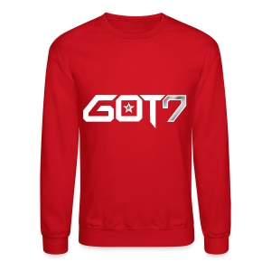 GOT7 Logo white - Crewneck Sweatshirt