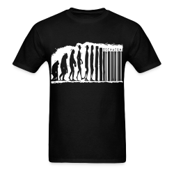 Evolution barcode Politics - Anarchism - Anti-capitalism - Libertarian - Communism - Revolution - Anarchy - Anti-government - Anti-state