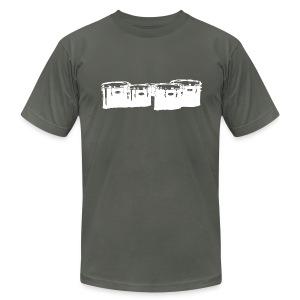 Marching Tenor Tee - White - Men's Fine Jersey T-Shirt