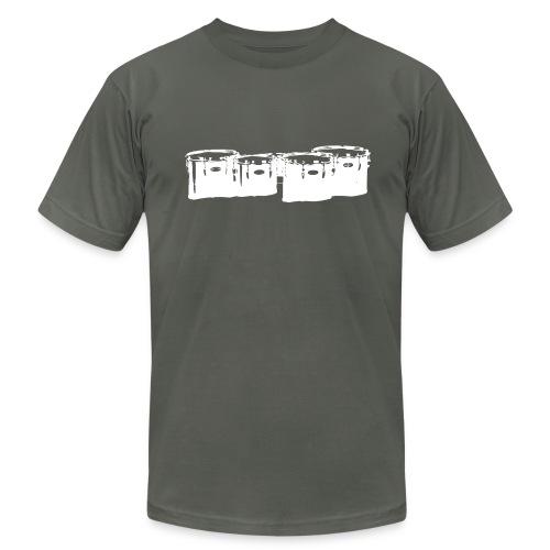 Marching Tenor Tee - White - Men's  Jersey T-Shirt