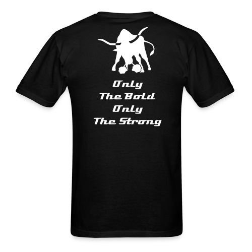 Only The Strong Black Shirt LIMITED EDITION - Men's T-Shirt