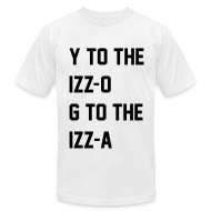 T-Shirts ~ Men's T-Shirt by American Apparel ~ Izzo