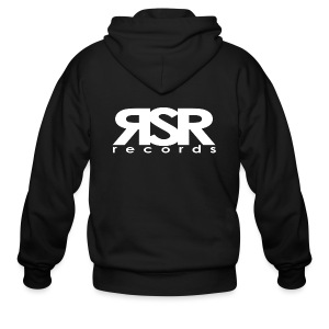 RSR Records - Men's Zip Hoodie