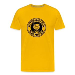 Pittsburgh Dad Mayor Shirt - Men's Premium T-Shirt