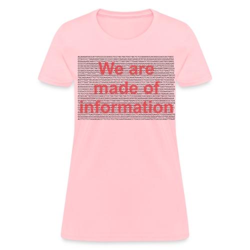 Made of info f - Women's T-Shirt