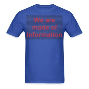 Made of info f - Men's T-Shirt