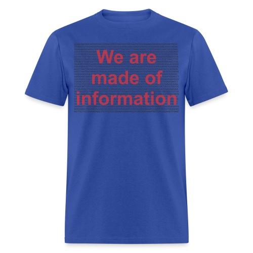Made of info f - Men's T-Shirt