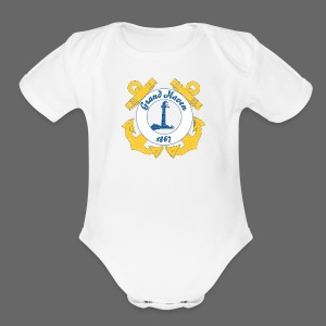 Grand Haven - Short Sleeve Baby Bodysuit