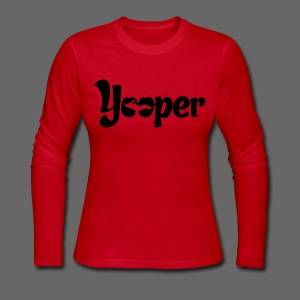 Yooper - Women's Long Sleeve Jersey T-Shirt