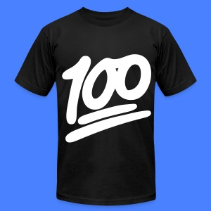 1 to 100 T-Shirts - Men's T-Shirt by American Apparel